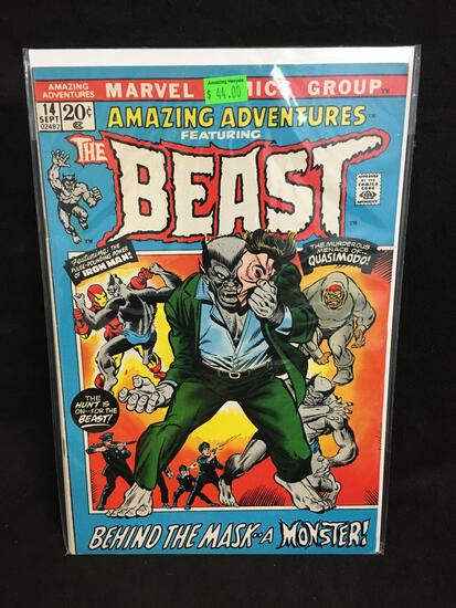 Amazing Adventures Featuring The Beast #14 Comic Book from Amazing Collection