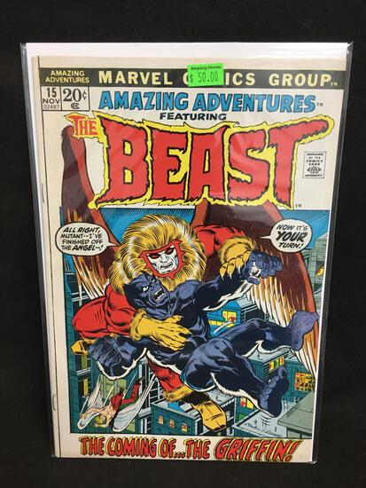 Amazing Adventures Featuring The Beast #15 Comic Book from Amazing Collection