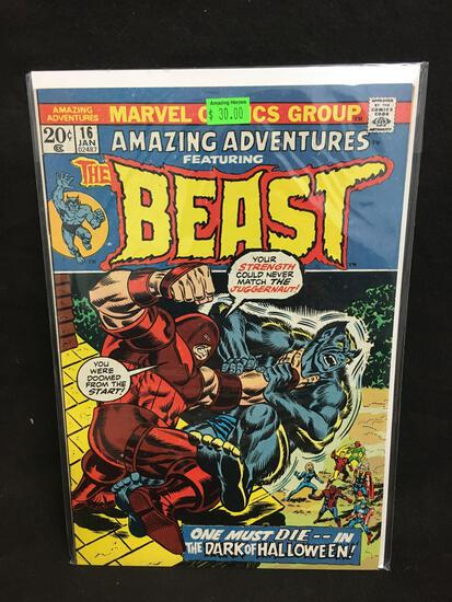 Amazing Adventures Featuring The Beast #16 Comic Book from Amazing Collection