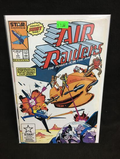 Air Raiders #1 Comic Book from Amazing Collection