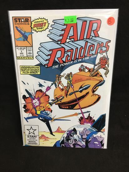 Air Raiders #1 Comic Book from Amazing Collection B