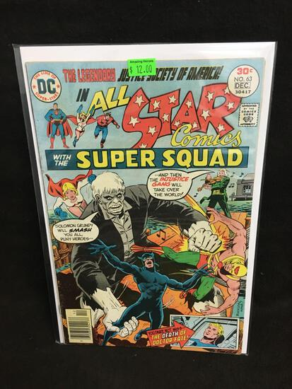 All Star Comics #63 Comic Book from Amazing Collection