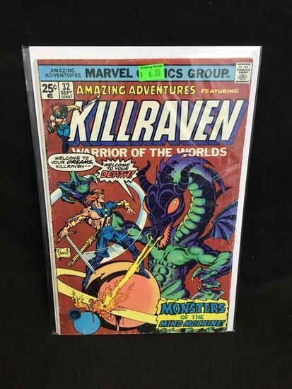 Amazing Adventures Featuring Killraven #32 Comic Book from Amazing Collection