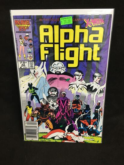 Alpha Flight #33 Comic Book from Amazing Collection