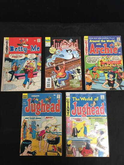 UNSEARCH ESTATE COLLECTION - 5 Comic Books - SEE PHOTOS