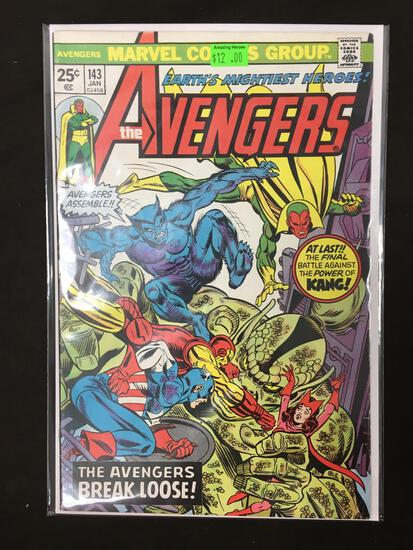 Avengers #143 Comic Book from Amazing Collection