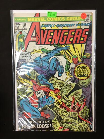 Avengers #143 Comic Book from Amazing Collection B