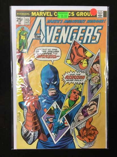 Avengers #145 Comic Book from Amazing Collection E