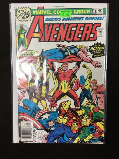 Avengers #148 Comic Book from Amazing Collection