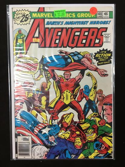 Avengers #148 Comic Book from Amazing Collection C