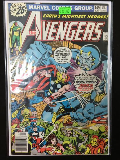 Avengers #149 Comic Book from Amazing Collection
