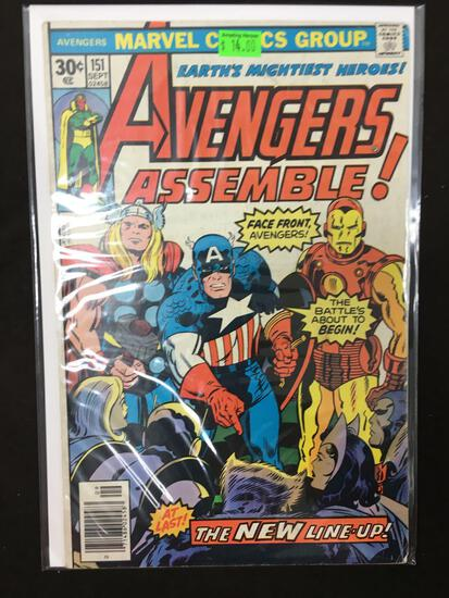 Avengers #151 Comic Book from Amazing Collection