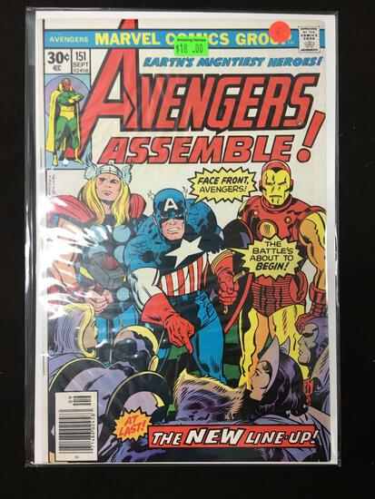 Avengers #151 Comic Book from Amazing Collection B