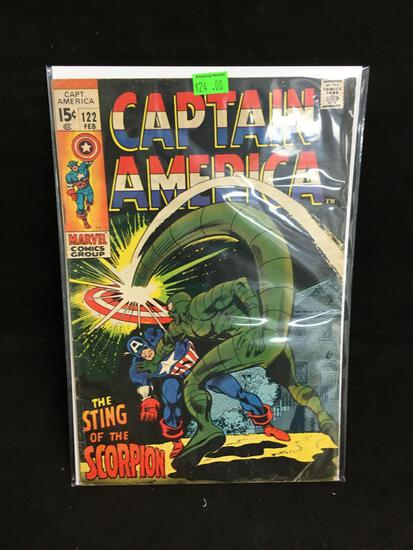 Captain America #122 Comic Book from Amazing Collection