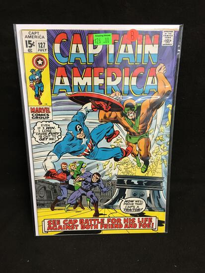 Captain America #127 Comic Book from Amazing Collection B