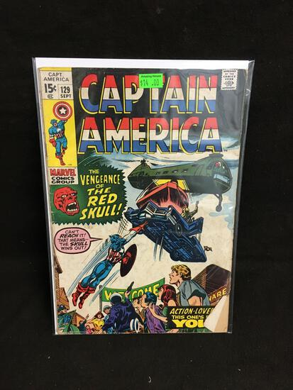 Captain America #129 Comic Book from Amazing Collection