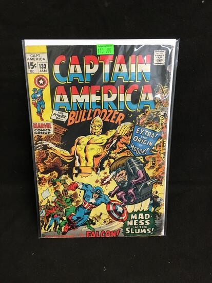Captain America #133 Comic Book from Amazing Collection