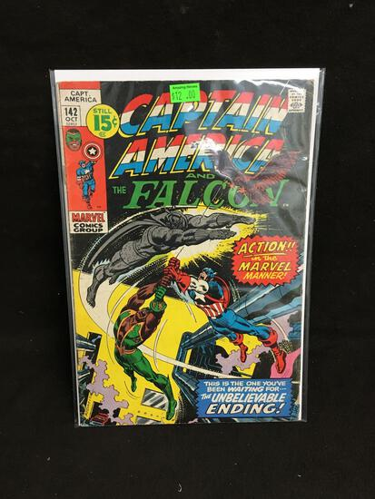Captain America and the Falcon #142 Comic Book from Amazing Collection