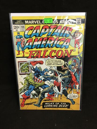 Captain America and the Falcon #166 Comic Book from Amazing Collection