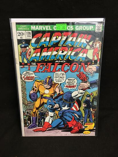Captain America and the Falcon #170 Comic Book from Amazing Collection