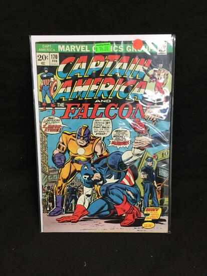 Captain America and the Falcon #170 Comic Book from Amazing Collection C