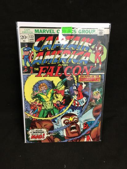 Captain America and the Falcon #172 Comic Book from Amazing Collection