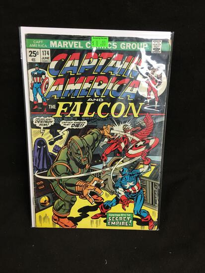 Captain America and the Falcon #174 Comic Book from Amazing Collection