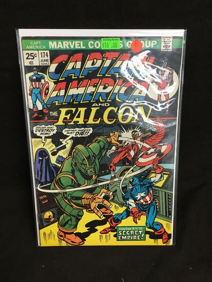 Captain America and the Falcon #174 Comic Book from Amazing Collection B