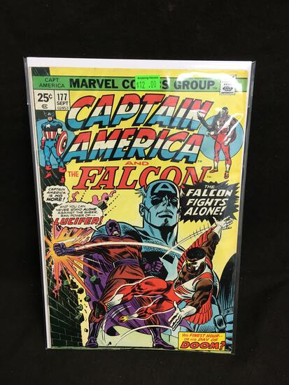 Captain America and the Falcon #177 Comic Book from Amazing Collection