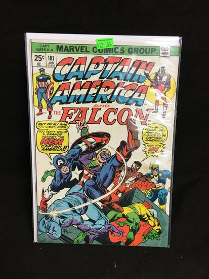Captain America and the Falcon #181 Comic Book from Amazing Collection