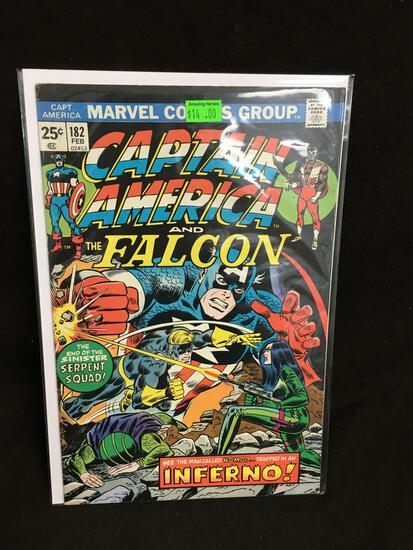 Captain America and the Falcon #182 Comic Book from Amazing Collection