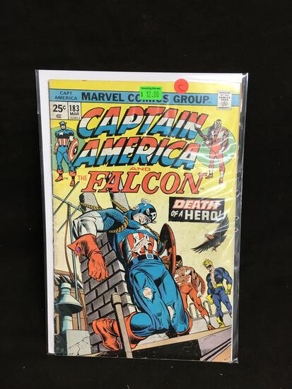 Captain America and the Falcon #183 Comic Book from Amazing Collection C