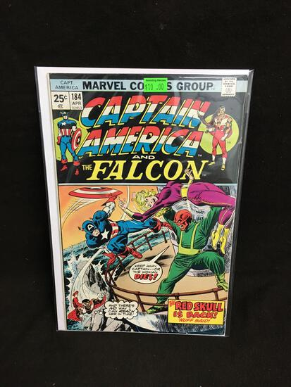 Captain America and the Falcon #184 Comic Book from Amazing Collection