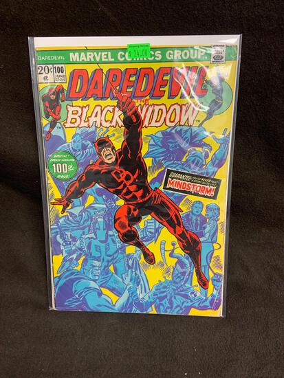 Daredevil and the Black Widow #100 Comic Book from Amazing Collection
