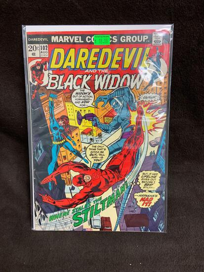Daredevil and the Black Widow #102 Comic Book from Amazing Collection