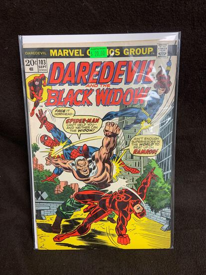 Daredevil and the Black Widow #103 Comic Book from Amazing Collection
