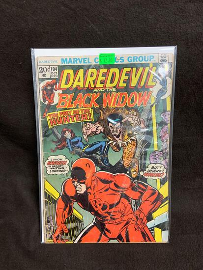 Daredevil and the Black Widow #104 Comic Book from Amazing Collection