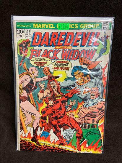 Daredevil and the Black Widow #105 Comic Book from Amazing Collection