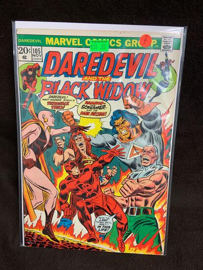 Daredevil and the Black Widow #105 Comic Book from Amazing Collection B