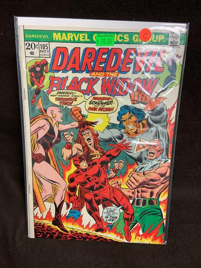 Daredevil and the Black Widow #105 Comic Book from Amazing Collection C