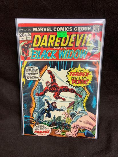 Daredevil and the Black Widow #106 Comic Book from Amazing Collection