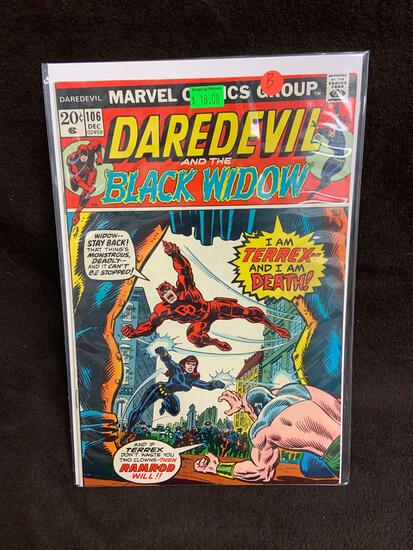 Daredevil and the Black Widow #106 Comic Book from Amazing Collection B
