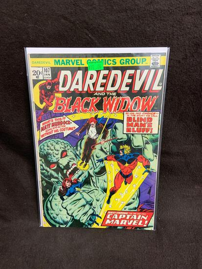 Daredevil and the Black Widow #107 Comic Book from Amazing Collection