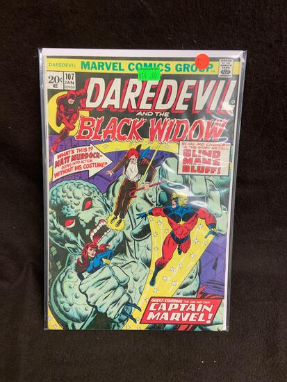 Daredevil and the Black Widow #107 Comic Book from Amazing Collection B