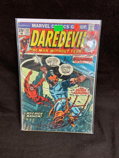 Daredevil #111 Comic Book from Amazing Collection B