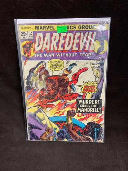 Daredevil #112 Comic Book from Amazing Collection