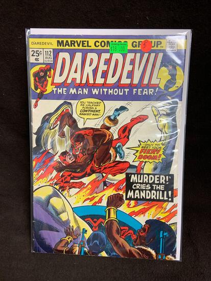 Daredevil #112 Comic Book from Amazing Collection B