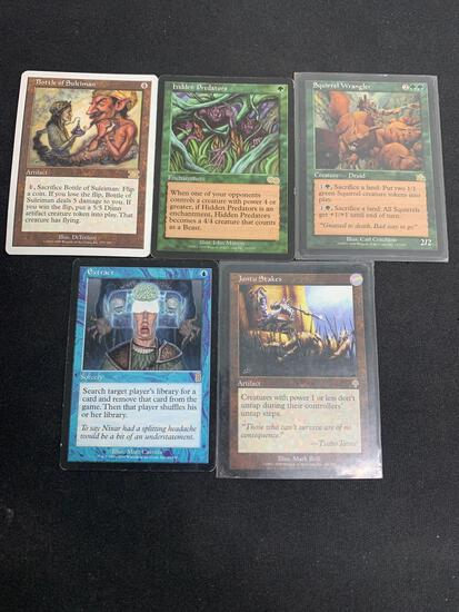 5 Card Lot of Magic the Gathering Rares Foils or Vintage Cards - Unresearched
