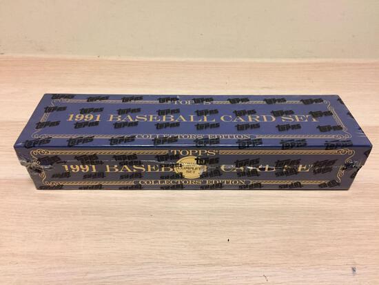 RARE 1991 Topps Tiffany Complete Factory Sealed Baseball Card Set - HIGH DOLLAR