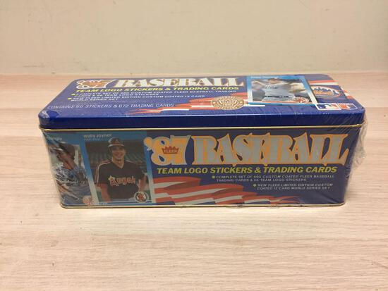 RARE 1987 Fleer Glossy Complete Factory Sealed Baseball Card Set - WOW
